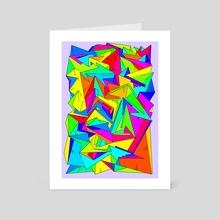 Cuspidate - Art Card by Alberto Carlos  Montana  © ( ͡° ʖ̯ ͡°)