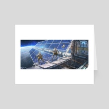Spacewalk - Art Card by James Chao