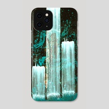 STP Screen Transfer Process - 0147 - Three Spectres - Phone Case by Wetdryvac WDV