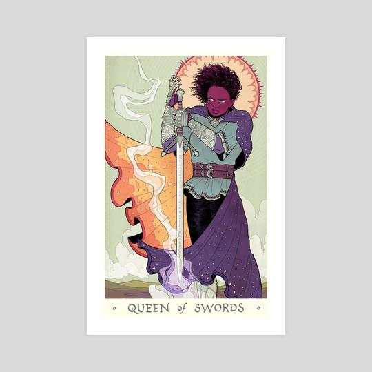 Queen of Swords by Sam Beck