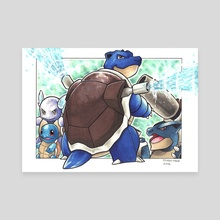 Blastoise  - Canvas by Odin