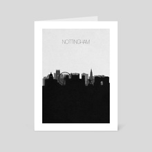 Nottingham - Art Card by Deniz Akerman