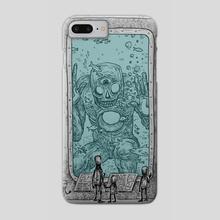 Old Gods on Display - Phone Case by MXLXTXV