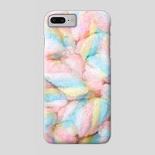Pastel Marshmallows Painting - Phone Case by Bridget Garofalo