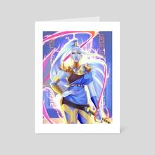 Megaera the Fury - Art Card by rosheruuu