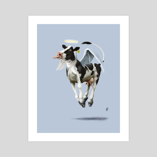 Holy Cow (Colour) by Rob Snow