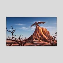 Perched - Canvas by Jason Farmer