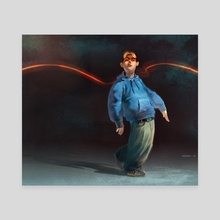 The Walk - Canvas by Ivelin Trifonov