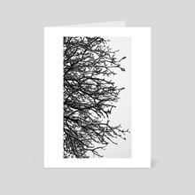 Winter Tree 5 (MKW-I.23) - Art Card by Kat Wicks