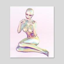 THC FEMBOT - Acrylic by Ricardo Romanzini
