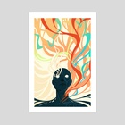 Colorfuel II - The Scar - Art Print by Ashenwave