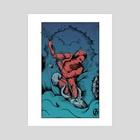 Neptun Edition II - Art Print by Kacper  Gilka