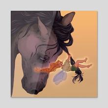 Fairy Knots - Acrylic by Lexie Rueve