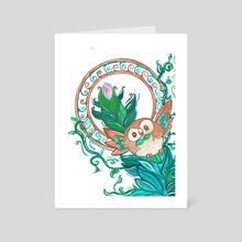 Rowlet - Art Card by Tori McKenna