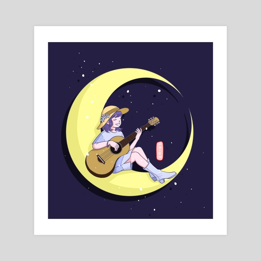 Fly me to the moon by Y Phien Tra