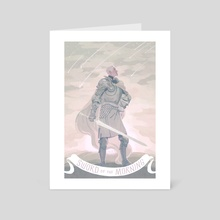 The Sword of the Morning - Art Card by Kali Ciesemier
