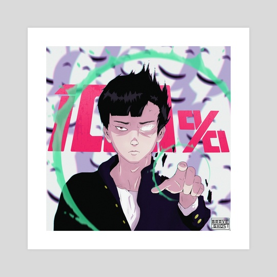 Mob | Mob Psycho 100 by Brave Ghost