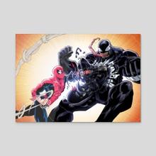 Spider V Symbiosis - Acrylic by Phil Vazquez