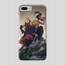 Van Hunks and the Devil - Phone Case by Nicolas Rix