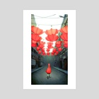 Little Lost Redcap - Art Print by Joy Ang