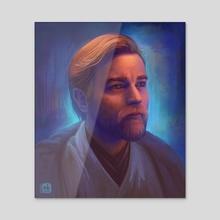 Obi-Wan Kenobi - Acrylic by Neleilis