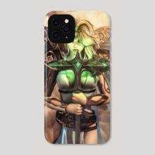 Angel Warrior 2 - Phone Case by DIMITRIOS IOANNIDIS