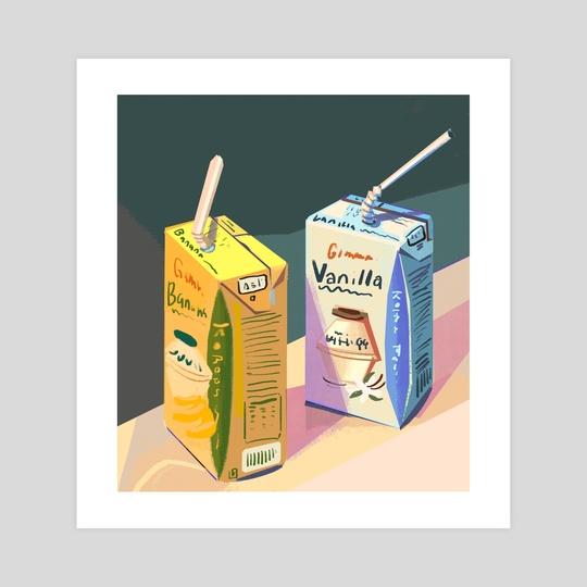 Milk Boxes by Gillian Galang