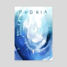 Phobia - Canvas by Lore Moth
