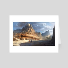 Desert City - Art Card by Artur Zima