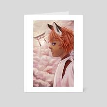 Heaven - Art Card by Sandra Correa