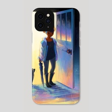 Going Out for a Bit - Phone Case by Geneva Bowers