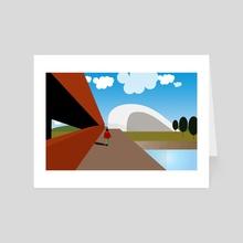 Urban 12 - Art Card by Michal Eyal