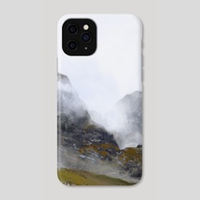 Nameless Mountains - Phone Case by Camila Vielmond