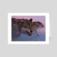 Canis major - Art Card by Mari-Liis Kirsimägi