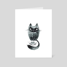 Dark Offering - Art Card by Emma SanCartier
