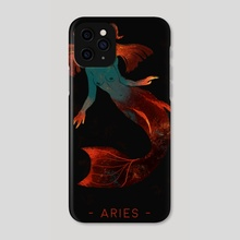 ARIES - Phone Case by Elsa M.