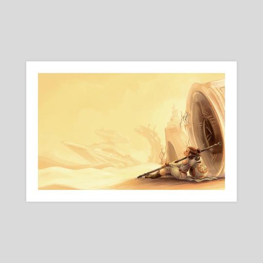 Desert Princess by Louis Wiyono