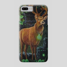 Green Magic - Phone Case by Annette Hassell