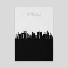 Honolulu - Canvas by Deniz Akerman