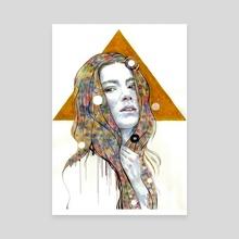 Alternate World, Alternate Me, Alternate Life - Canvas by Veronika Vajdová