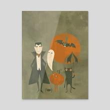Soon Halloween - Acrylic by Greg Abbott