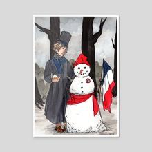Snowcitizen - Acrylic by Oilan