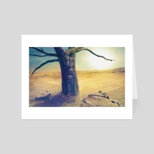 Middle of Nowhere - Art Card by Ryan Laing