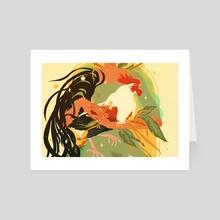 Spring Equinox - Art Card by Samantha Mash