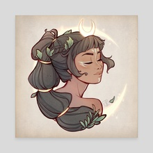 Calm Artemis - Canvas by Christina Barton