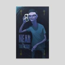 Hear The Ocean - Canvas by Drago PXRN
