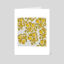 Teeth - Art Card by Lee Ely