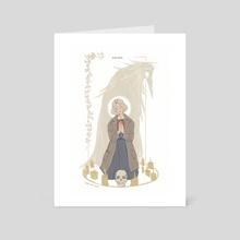 Laska - Art Card by Yura Moonbow