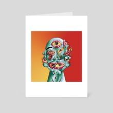 eye - Art Card by femzor
