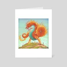 Dragon - Art Card by Michał Dziekan